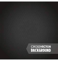 Cross background black vector