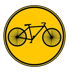 Bike button vector