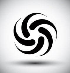 Abstract loop template conceptual icon special vector image