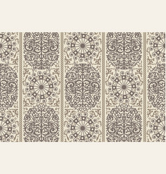 Beige ancient vintage seamless ornamental texture vector