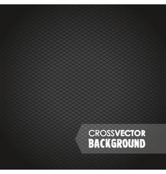 cross background black vector image