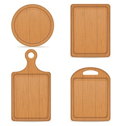 cutting board 05 vector image vector image