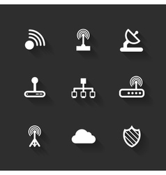Design flat icons vector