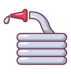 Water hose icon cartoon style vector