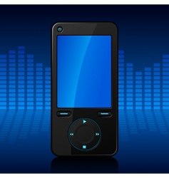 Portable media player vector