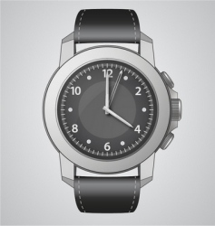 analog watch vector image vector image