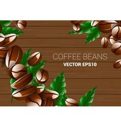 coffee break with roasted vector image