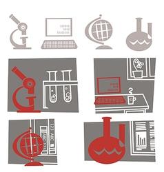 Science education vector