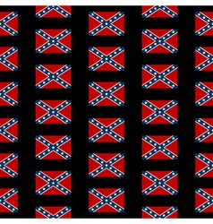 Confederate states of america seamless pattern vector