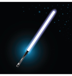 light saber vector image vector image