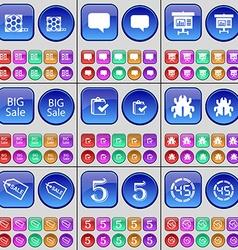 Videotape chat bubble diagram big sale survey bug vector