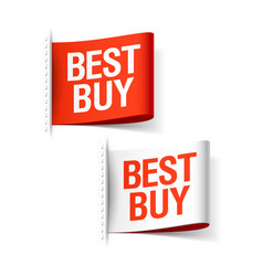 Best buy labels vector