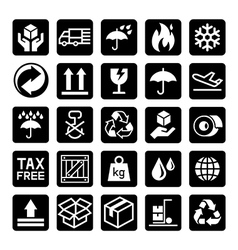 Delivery icons3 vector