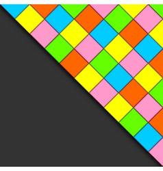 multicolored tiles vector image