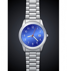 Photorealistic watch vector
