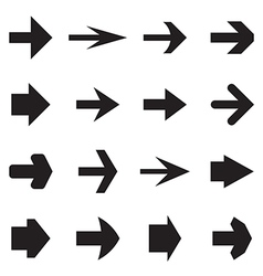 Right arrows vector image vector image