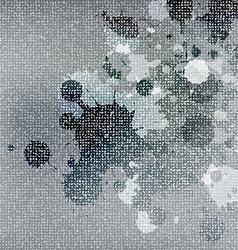 stain on fabric texture vector image