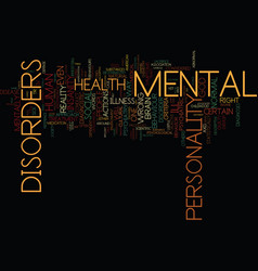 The myth of mental illness text background word vector