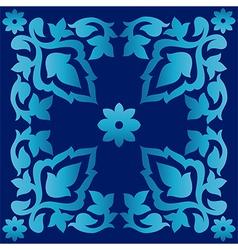 Antique ottoman turkish pattern design seventy two vector