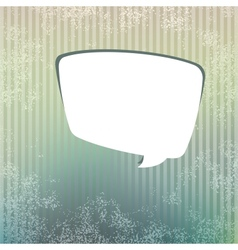 Background with speech bubble EPS8 vector image vector image