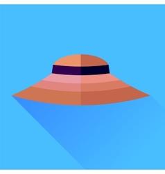 Pink hat vector