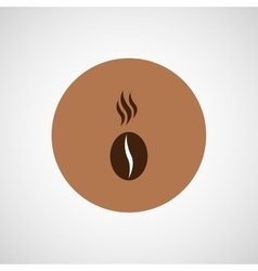 Coffee design bean icon vector