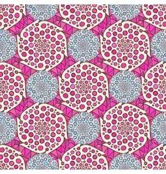 Ornamental arabic pattern abstract vector