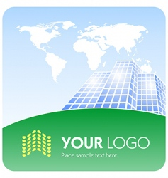 corporate logo vector image vector image