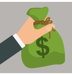 Money saving and business vector image