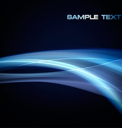neon blue abstract vector image vector image