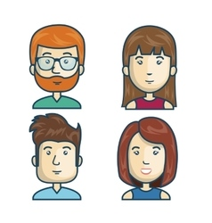 People community group icon vector