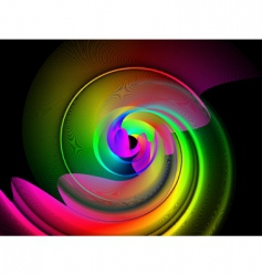 Spectrum swirl vector