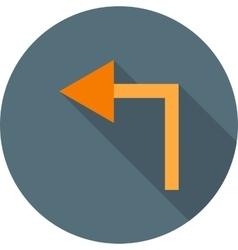 Left turn vector