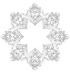 Artistic ottoman pattern series seventeen vector