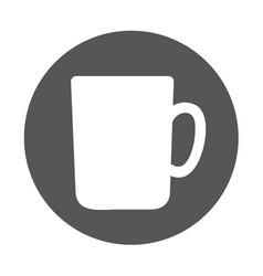 Jar glass beverage icon vector