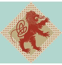 Medieval heraldic vector