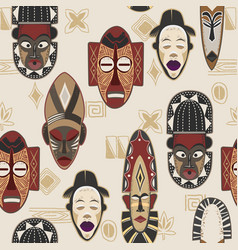 african-pattern-03 vector image
