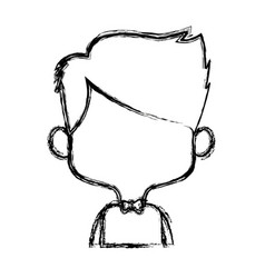 character man male portrait peopl vector image vector image
