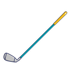 Golf club icon cartoon style vector