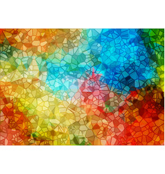 Mulicolor mosaic background vector
