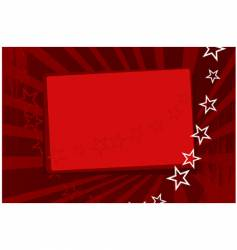 red wallpaper with stars vector image vector image