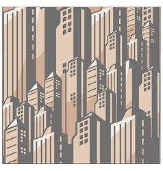 Metropolis cityscape vector