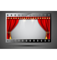 Cinema theater vector