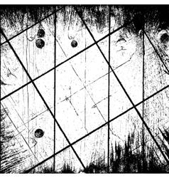 Grunge Grid Background vector image vector image