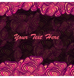 pink purple frame background vector image