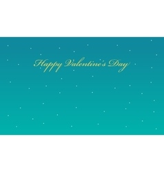 Valentine with star backgrounds vector