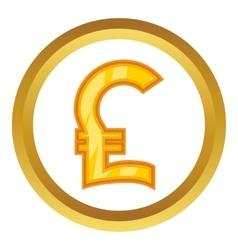 Pound sign icon vector