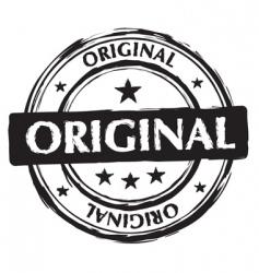 grunge ink stamp vector image