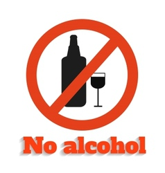 No alcohol vector