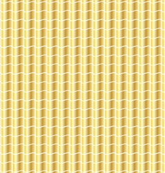 Wavy gold pattern vector